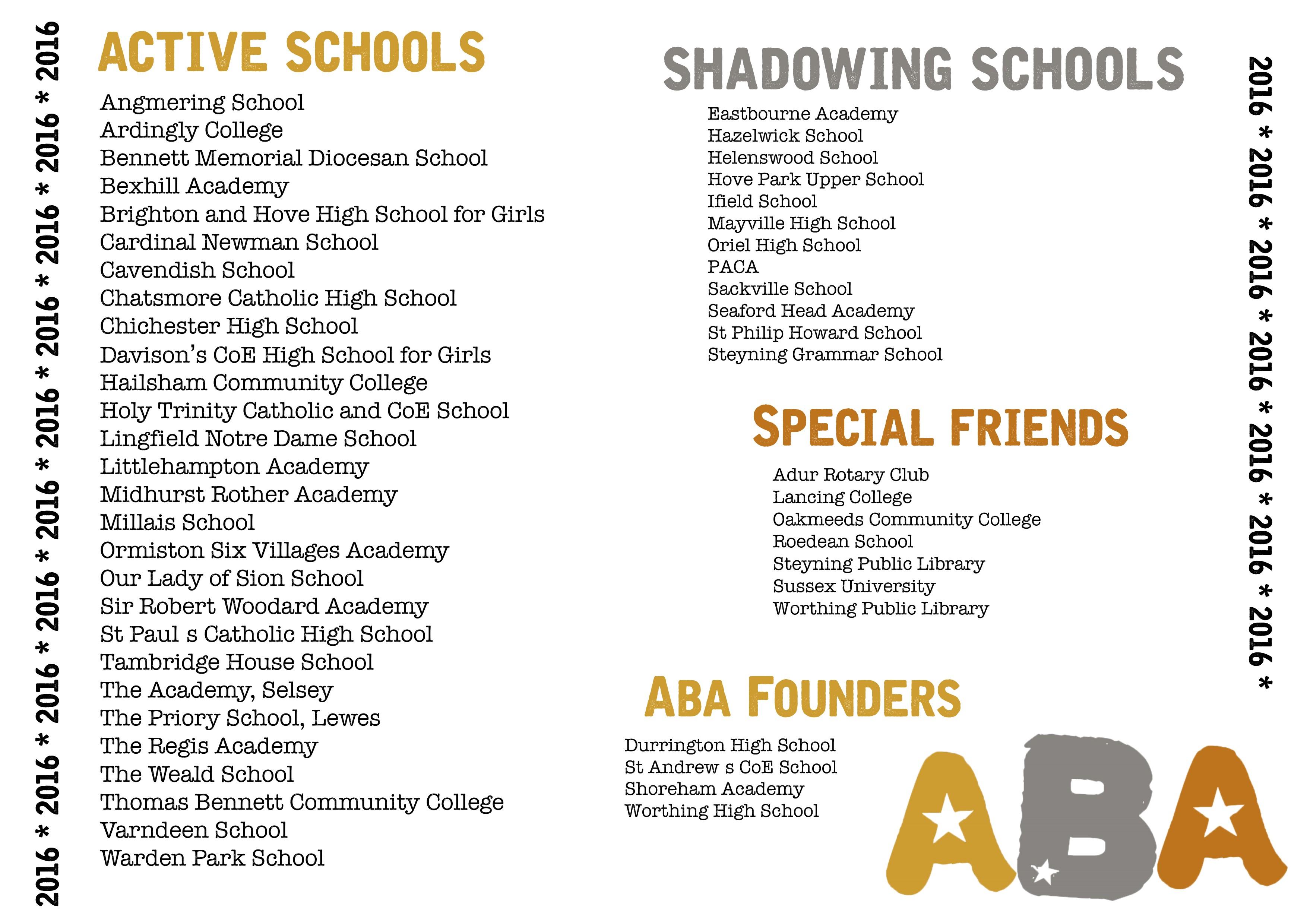 active schools 2016