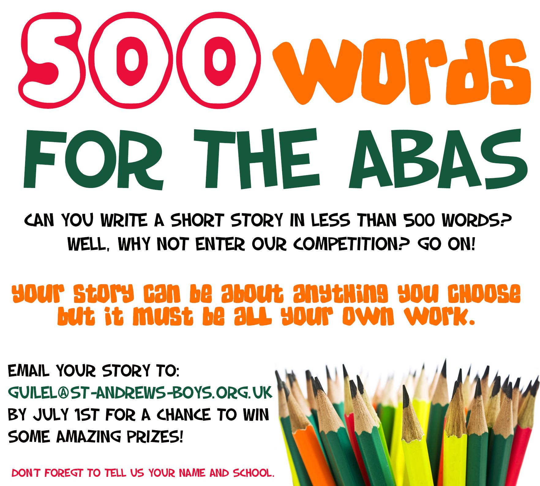 Essay format 500 words bbc